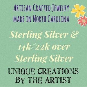 Handmade Sterling Earrings Crystals & Gemstones